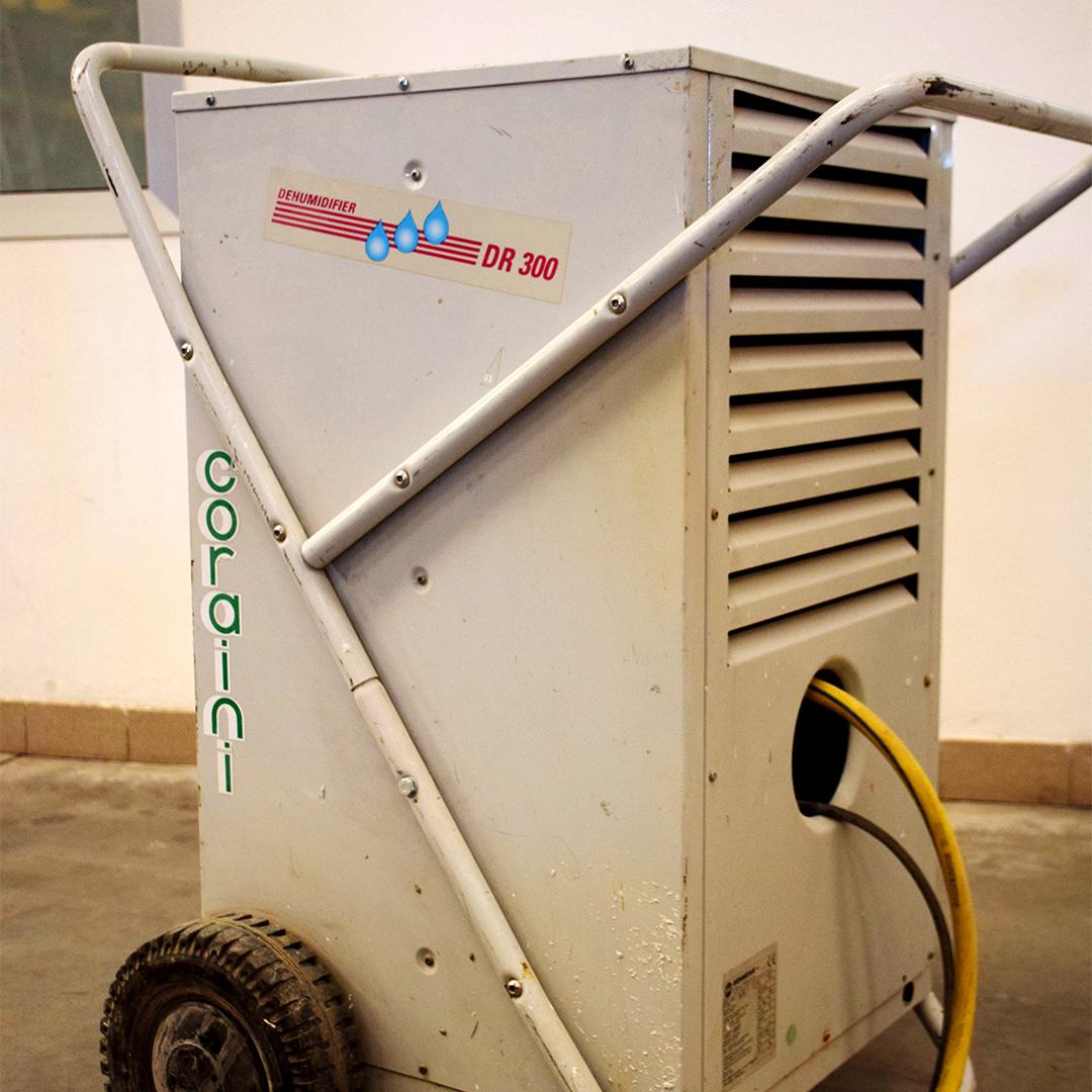 Noleggio: Generatori aria calda e deumidificatori