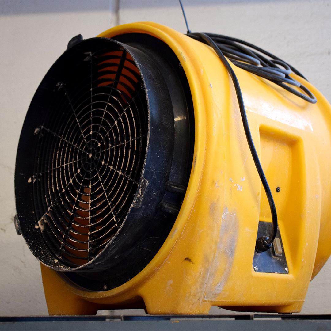 Noleggio: Sabbiatrici e ventilatori