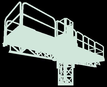 Vendita: Montacarichi e piattaforme autosollevanti